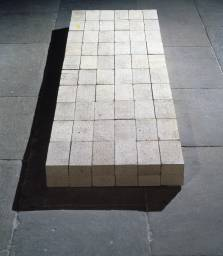 Andre, Arranged Bricks at the Tate