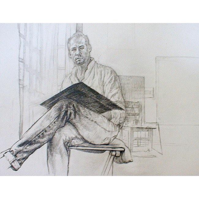 Graphite Self-Portrait