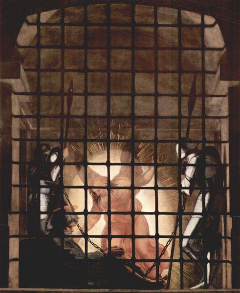 Deliverance of Saint Peter, Raphael, 1514