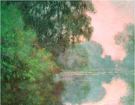 Arm of the Seine near Giverny Claude Monet001