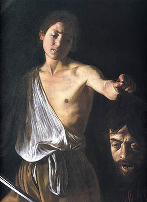 David with the Head of Goliath, Caravaggio,1610