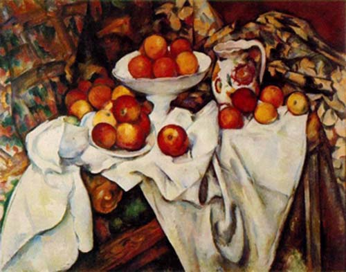 Cezanne, Still-Life with Apples and Oranges, 1899