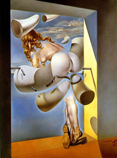 Dali, Young Virgin Autosodomized by Her Own Chastity