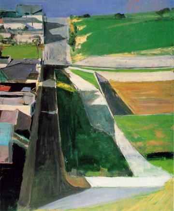 Diebenkorn, Cityscape 1 (Landscape No. 1), 1963
