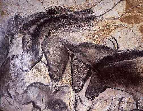 Chauvet Caves Horses