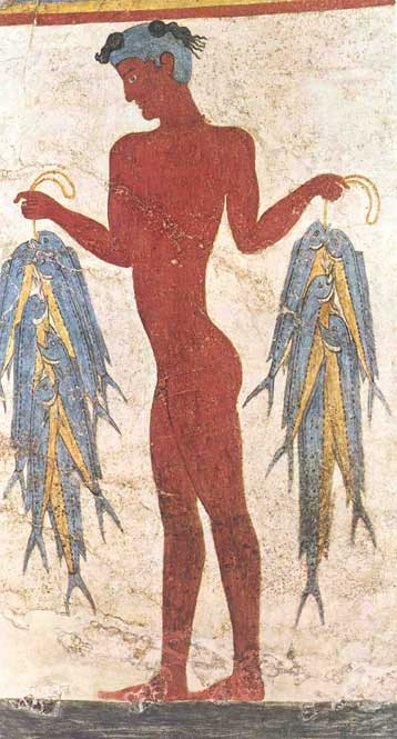 Akrotiri-Santorini 1650-1500 b.c.