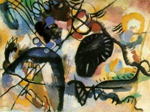 Kandinsky, Black Spot I, 1912