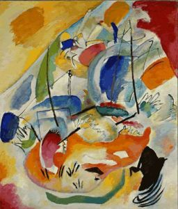 Kandinsky, Improvisation 31 (Sea Battle), 1913