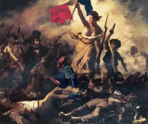 Delacroix, Liberty Leading the People, 1830