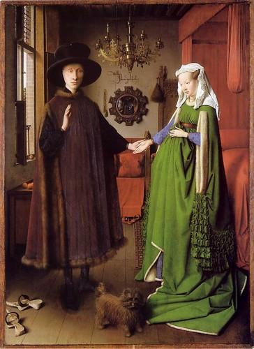 The Arnolfini Portrait, Jan van Eyck, 1434