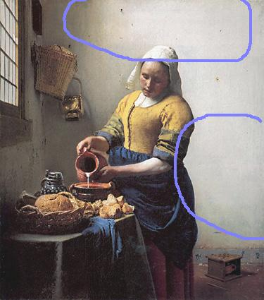 Vermeer Milkmaid demo light