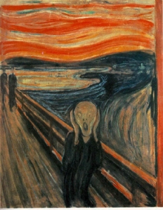 Munch, The Scream, 1893