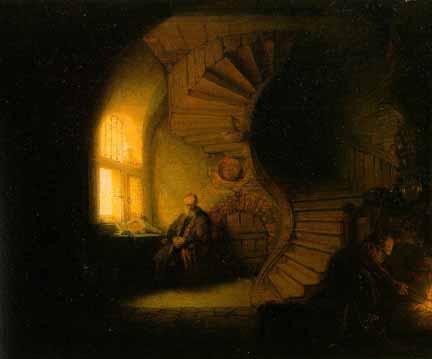 Philosopher in Meditation (Rembrandt)001