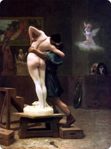 Gerome, Pygmalion and Galatea, 1881