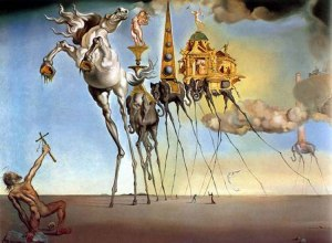 Dali, The Temptation of St. Anthony, 1946