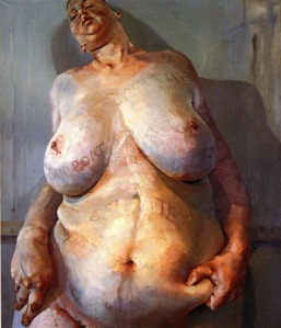 Saville, Branded, Self-portrait, 1992