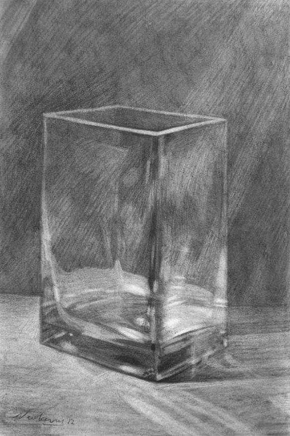 Newberry, Glass Vase