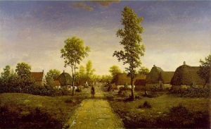 T. Rousseau, The Village of Becquigny, c. 1860