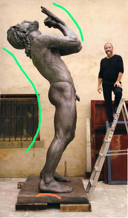 Monumental sculpture Zarathustra by Peter Schipperheyn