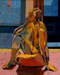 Jette, '78, oil on linen