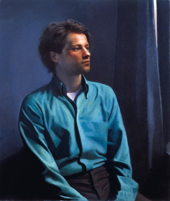 Portrait of a Young Man, 1981, oil on linen