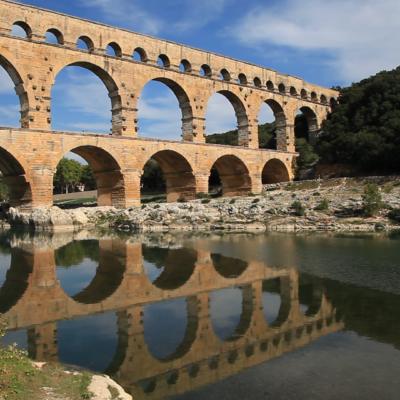 Pont du Gard by Mathieu Brousses Provence Art Experience