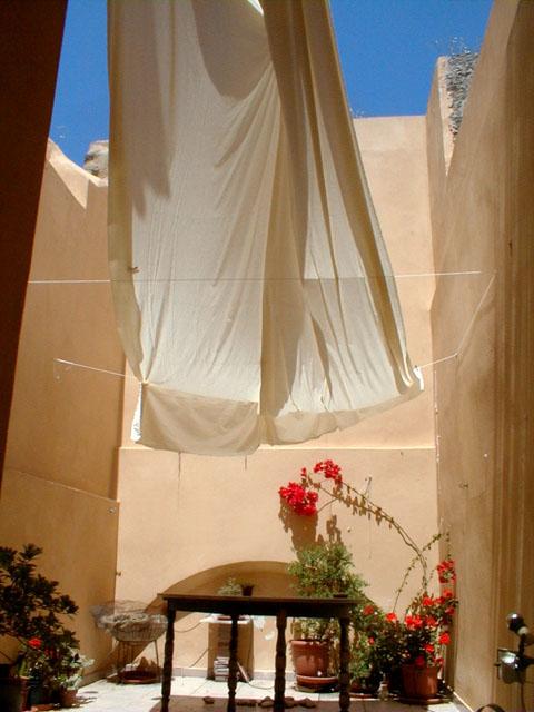 Courtyard Studio of Michael Newberry in Rhodes