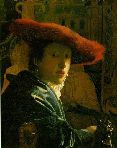 Vermeer, Girl with the Red Hat