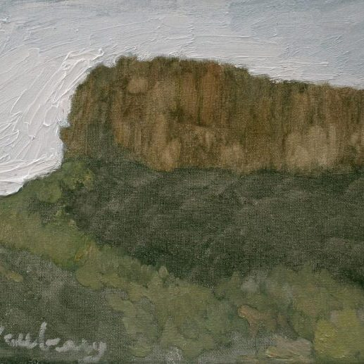 "Newberry, Arizona Series #3, oil on panel, 9x12"""