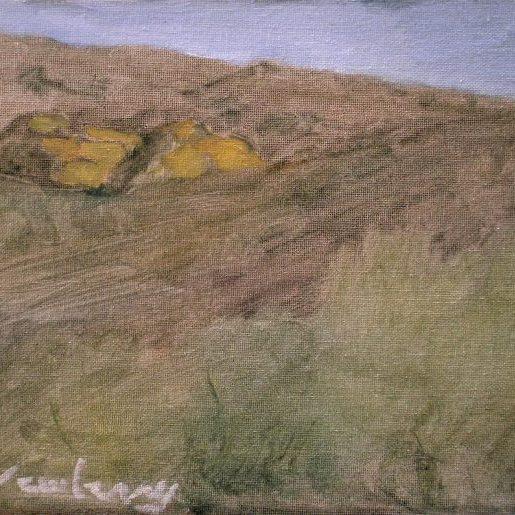 "Newberry, Arizona Series #4, oil on panel, 9x12"""