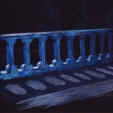 newberry-balcony-pastel-on-dark-paper-pc