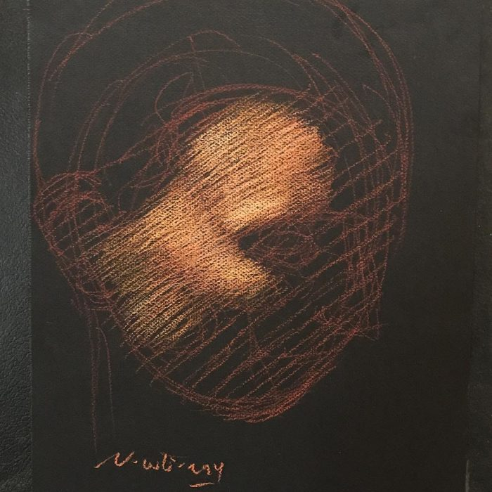 newberry-forehead-study-kiss-1-pastel-on-dark-paper-sc