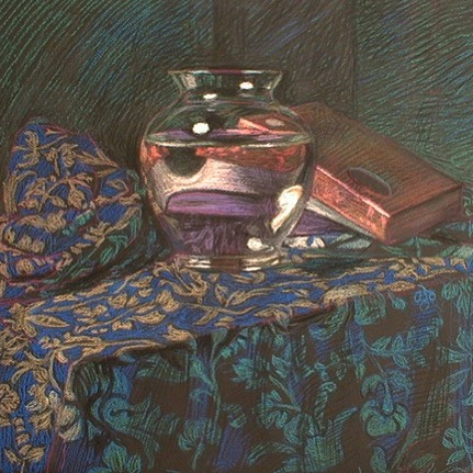 newberry-glass-vase-and-chocolate-boxes-1-pastel-on-dark-paper-pc