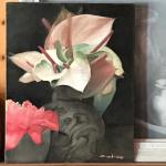 """Newberry, Kauai Flowers, 2016, oil on canvas, 16x12"""""""