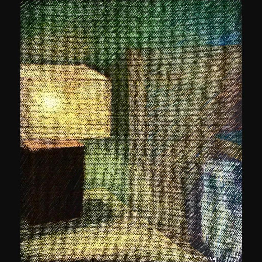 newberry-lamp-study-sydney-pastel-on-dark-paper-sc