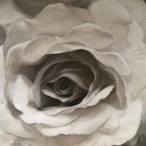 "Newberry, Folds, 2017, oil on canvas, 16x24"""