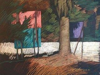 newberry-palm-and-signs-rhodes-pastel-on-dark-paper-pc
