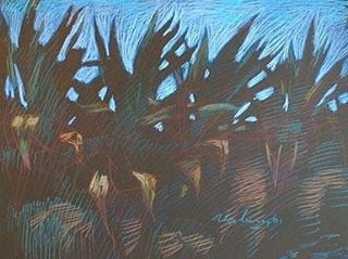 newberry-rhodes-cacti-pastel-on-dark-paper-pc