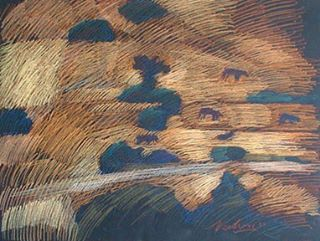 newberry-rhodes-cows-pastel-on-dark-paper-pc