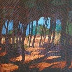newberry-rhodes-pines-pastel-on-dark-paper-pc