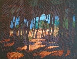 newberry-rhodes-pines-pastel-on-dark-paper-pc