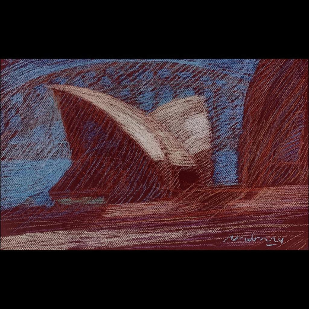 newberry-sydney-opera-house-4-pastel-on-dark-paper-sc