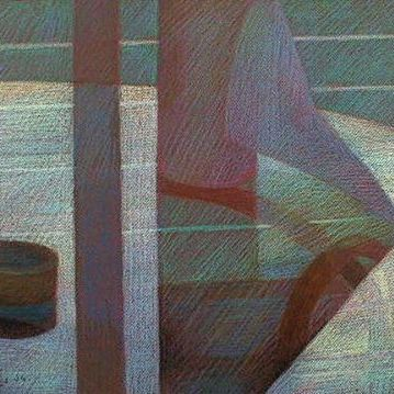 newberry-towel-and-tape-pastel-on-dark-paper-pc