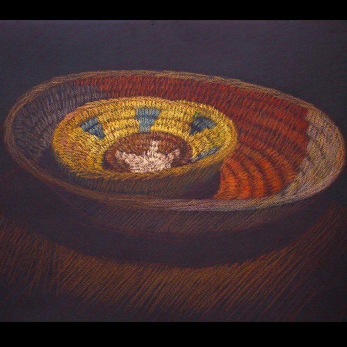 newberry-woven-baskets-2-pastel-on-dark-paper-pc