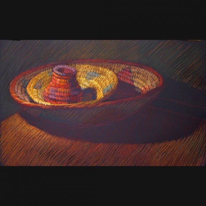 newberry-woven-baskets-3-pastel-on-dark-paper-pc