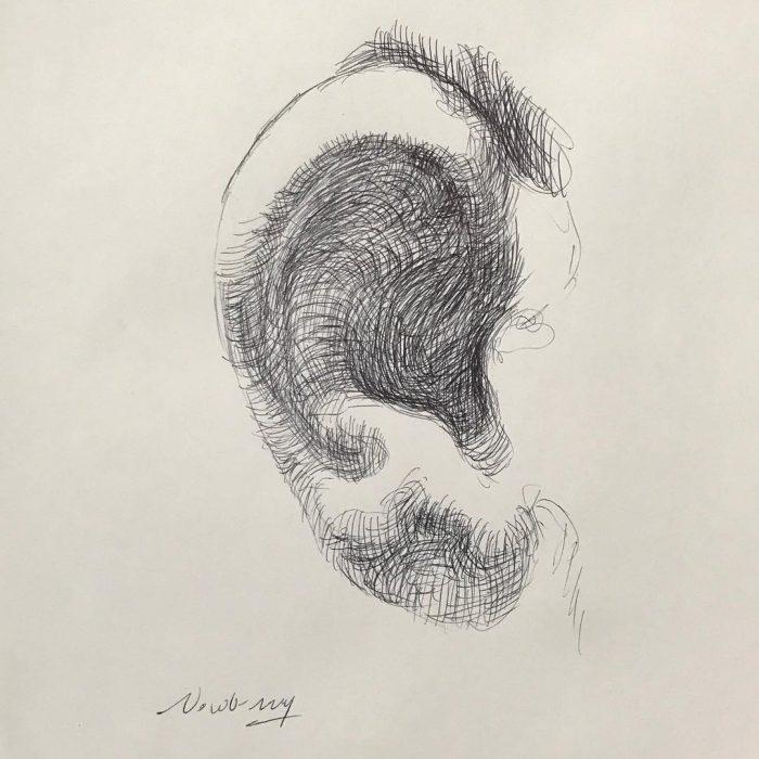 newberry_ear_study_kiss_ink
