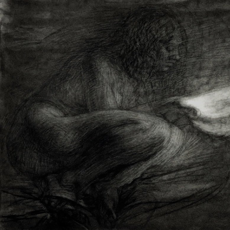 newberry_female_nude_mourning_charcoal