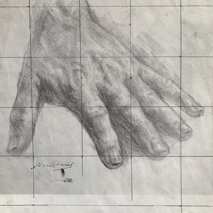 newberry_hand_study_oblivion_left_graphite