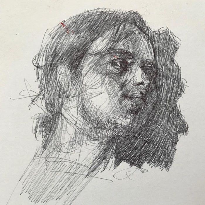 newberry_male_portrait_sketch_ink
