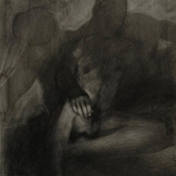 newberry_man_among_shadows_charcoal